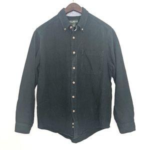 3/$12 Eddie Bauer Button Down Cotton Flannel M